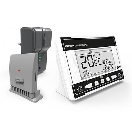 Кімнатний регулятор температури TECH ST-290 v2 (бездротовий), фото 2
