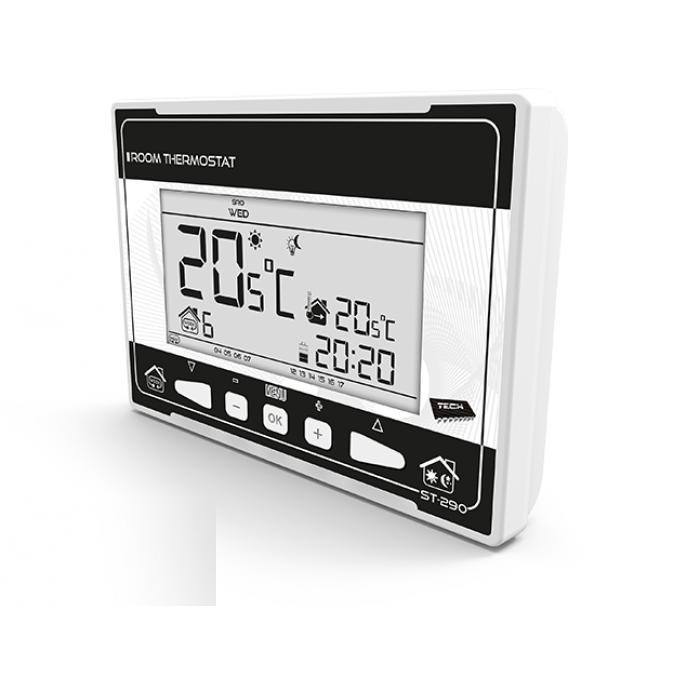 Кімнатний регулятор температури TECH ST-290 v3 (дротовий)