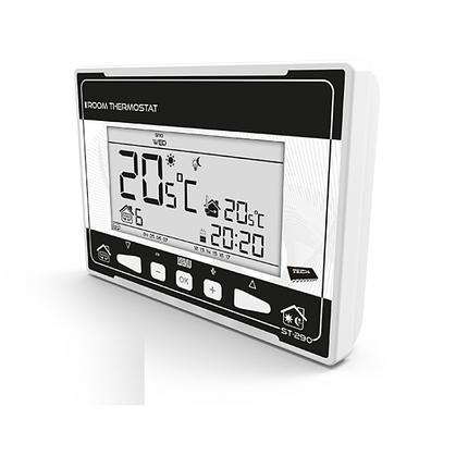 Кімнатний регулятор температури TECH ST-290 v3 (дротовий), фото 2
