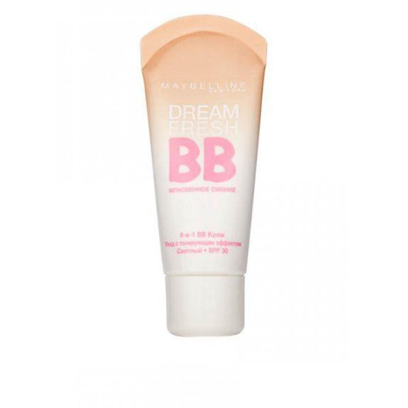 Тональное средство Maybelline Dream Fresh BB Cream 8 in 1 (3 тона) 30ml №02,04,06 - 207