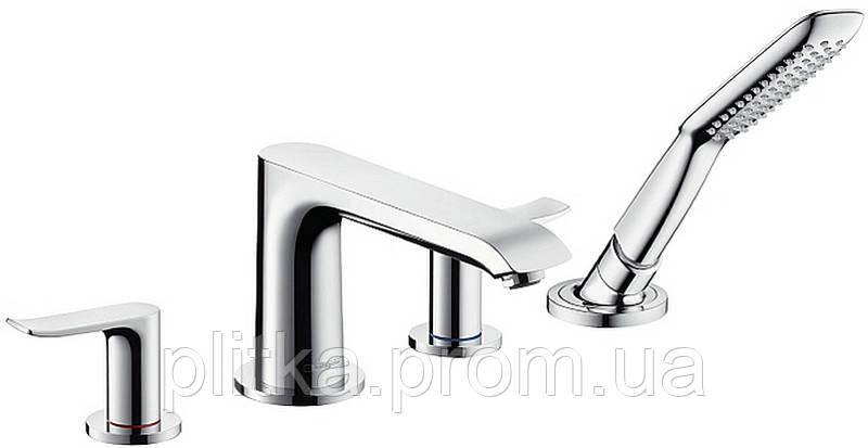 31442000 Metris New Смеситель для ванны на 4 отверстия НЧ (СЧ отдельно 13444180)