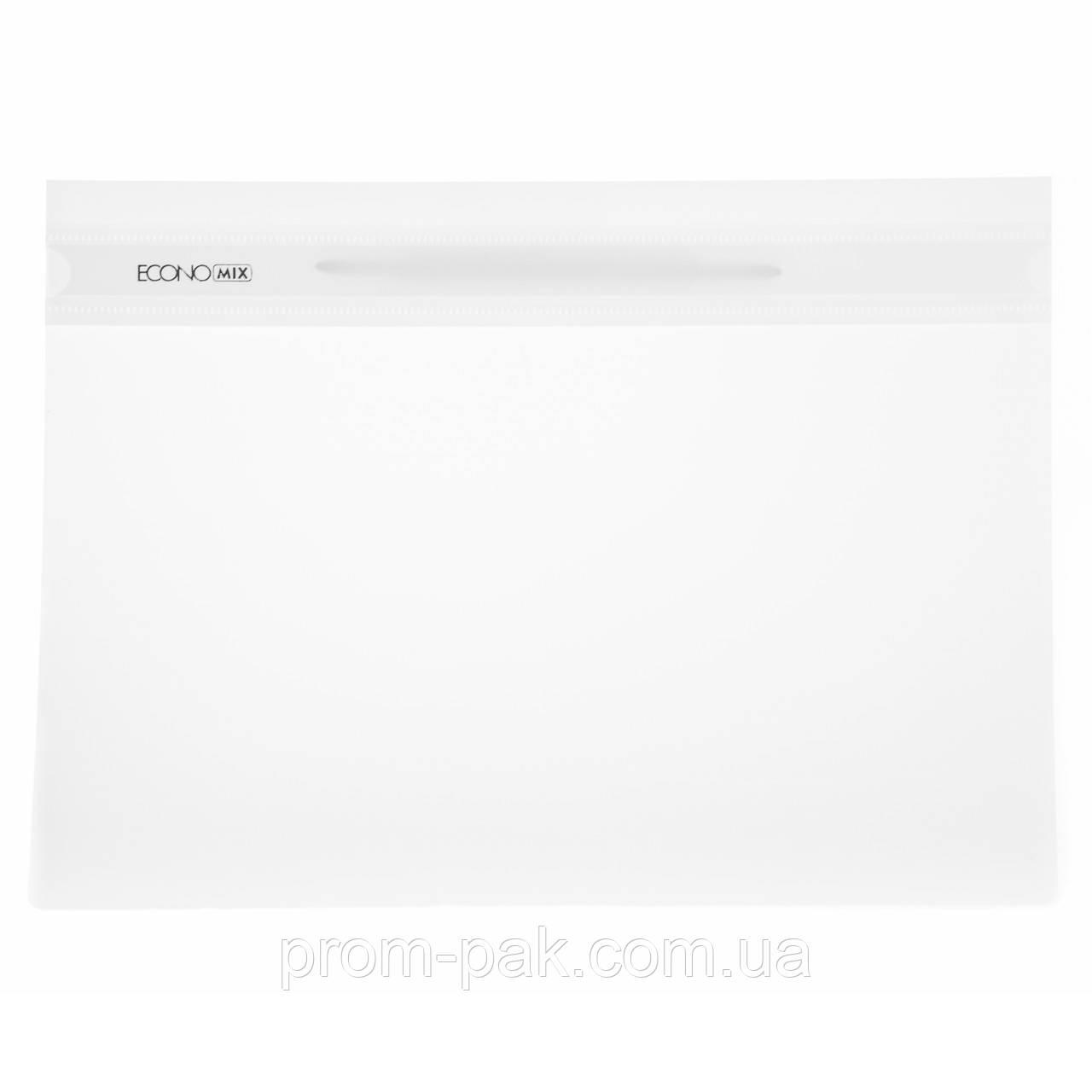 Скоросшиватель пластиковый Economix белый 31511-14