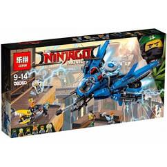 "Конструктор LEPIN NINJA MOVIE 06050 (аналог Lego 70614) ""Самолёт-молния Джея"" 937 дет"