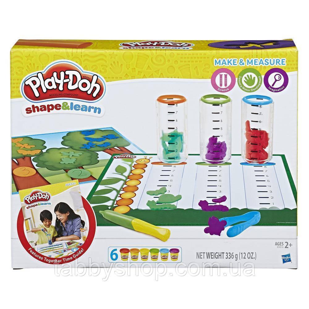 """Игровой набор HASBRO Play Doh """"Сделай и измерь"""""""