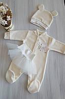 Хрестинна одяг для новонароджених Happy Tot в Україні. Порівняти ... 50639afc10b9f
