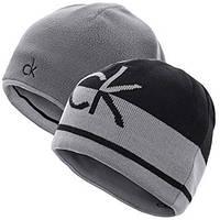 Мужская двусторонняя шапка Calvin Klein, фото 1