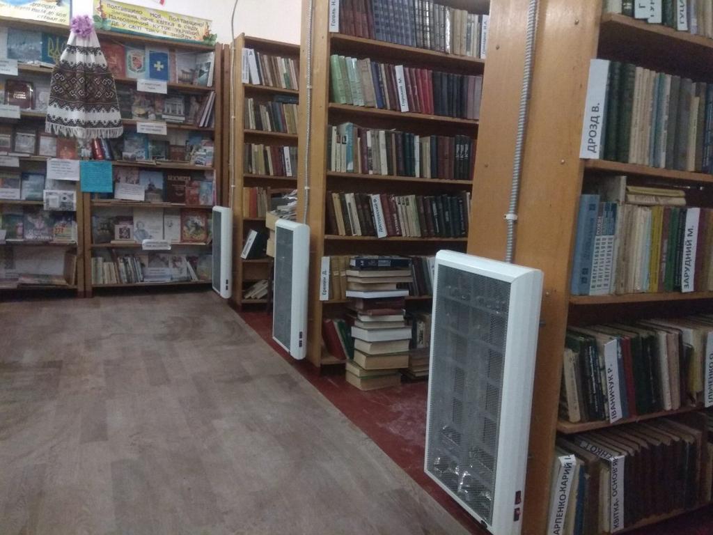 Отопление библиотеки
