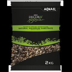 Грунт Aquael Aqua Decoris для аквариума натуральный 5-10 мм, 2 кг(114045)
