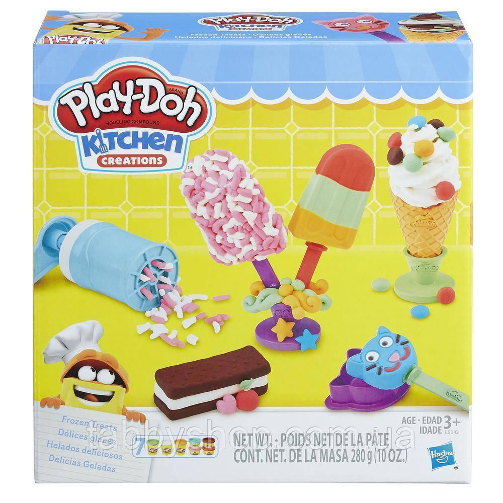 """Игровой набор HASBRO Play Doh """"Создай любимое мороженое"""""""