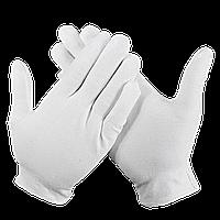 Перчатки Белые для официантов хлопчатобумажные р.M (56M)