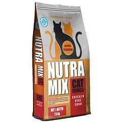 Nutra Mix PROFESSIONAL for Cats (Нутра Микс) корм для взрослых активных кошек 7.5 кг