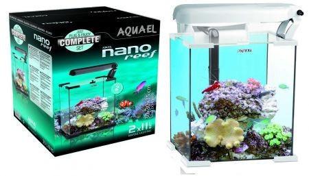 Аквариум Aquael Nano Reef белый, 30 л