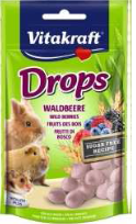 Лакомство Vitakraft Drops для грызунов с лесными ягодами, 75 г