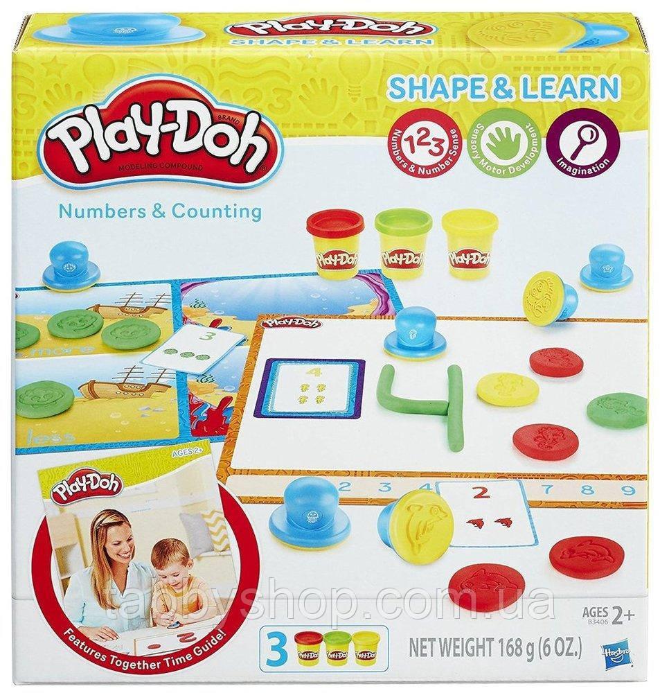 """Игровой набор HASBRO Play Doh """"Цифры и числа"""""""