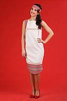Женское платье с вышивкой.   Жіноче плаття Модель:ЖП 16-