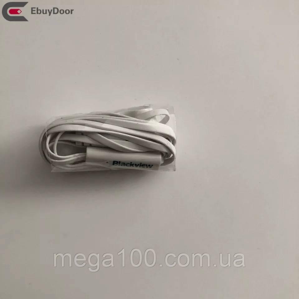 Наушники для смартфона blackview, удлиненный штекер
