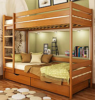 Двухъярусная деревянная кровать Дуэт (Эстелла)