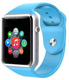 Часы Smart Watch A1 Blue Гарантия 1 месяц