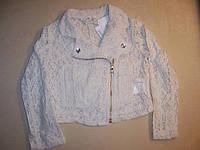 Кружевная курточка для девочки