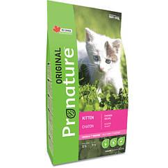Pronature Original Kitten Chicken корм для котят c курицей 0.34кг