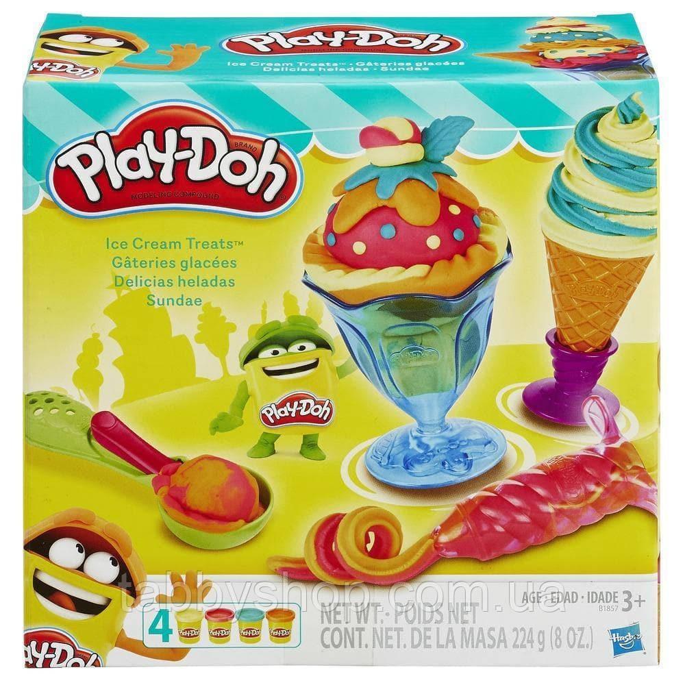"""Игровой набор HASBRO Play Doh """"Инструменты мороженщика"""""""