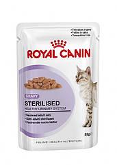 Royal Canin Sterilised в соусе 85 г для стерилизованных ков cтарше 1 года