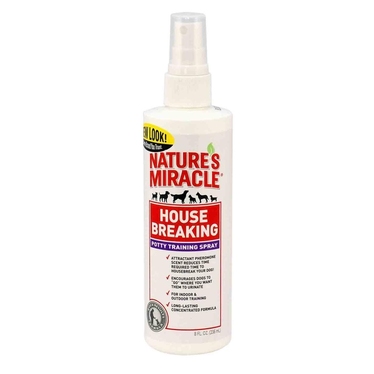 Спрей 8 in 1 nature's Miracle House Breaking для привчання щеняти до туалету, 237 мл