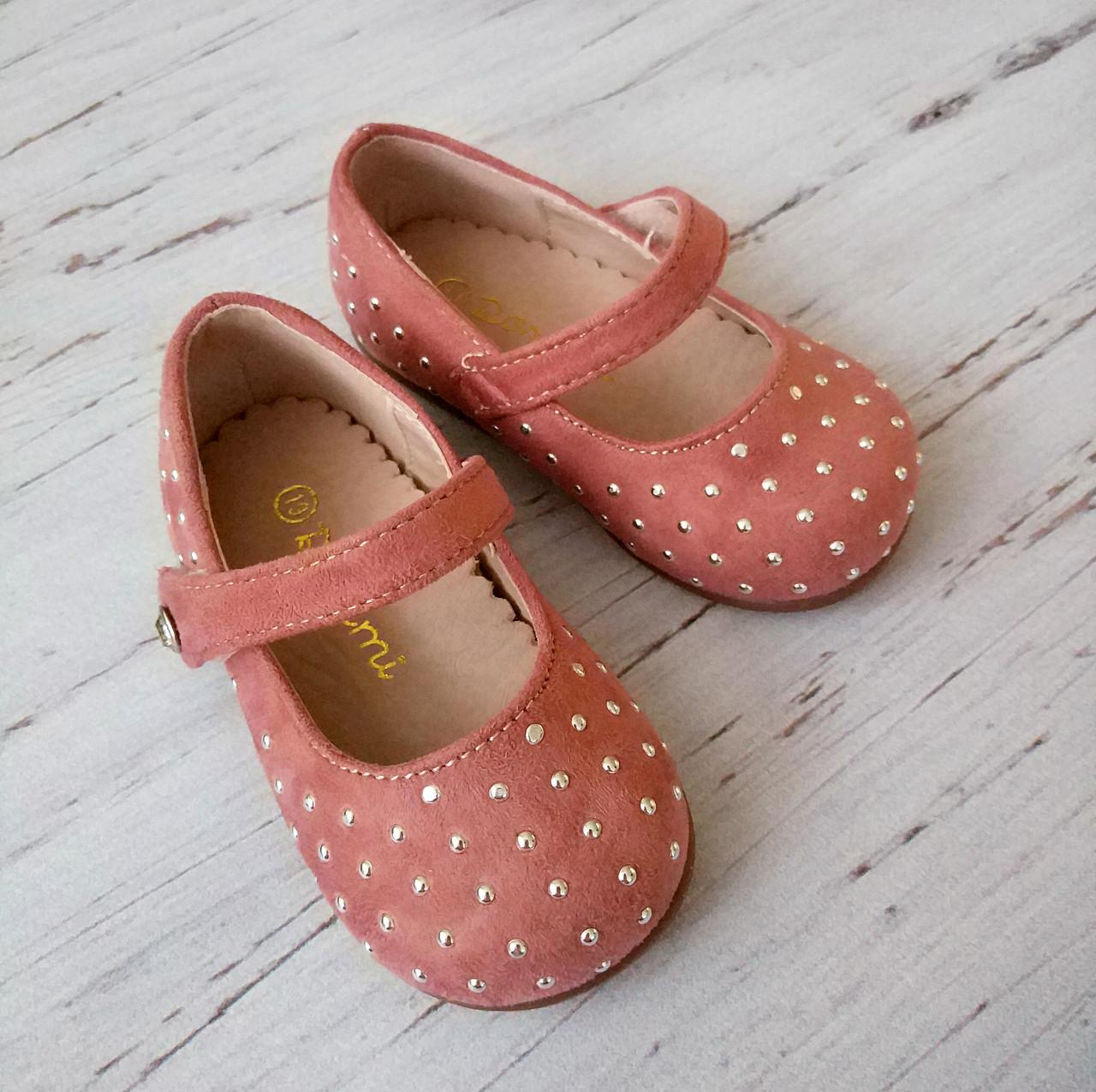 Обувь для девочек, детские туфли розовые, Doremi