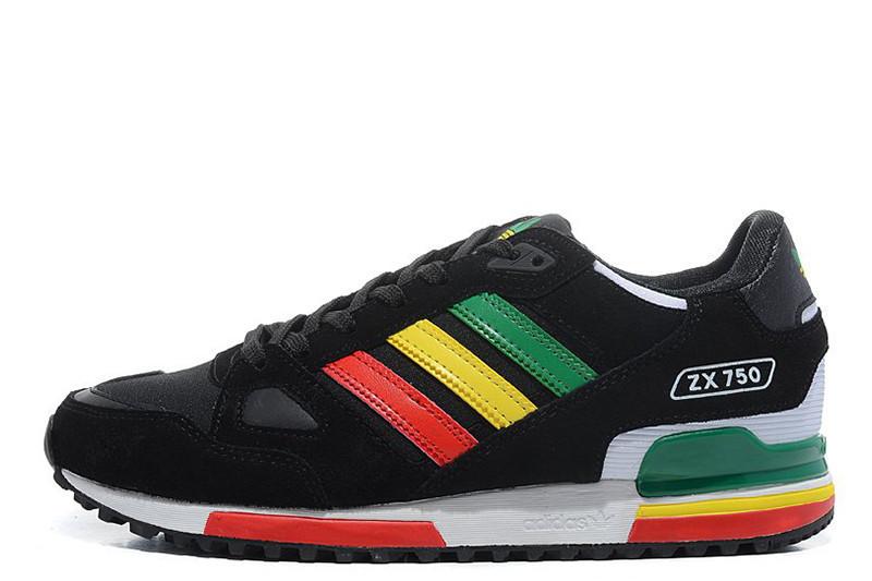 6660208b Женские кроссовки Adidas ZX750 Black Rainbow W размер 36 Черный  (Ua_Drop_111788-36), цена 1 459,20 грн., купить в Кривом Роге — Prom.ua  (ID#848646911)