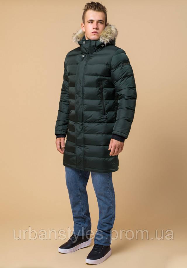 Куртка длинная с мехом Braggart Aggressive