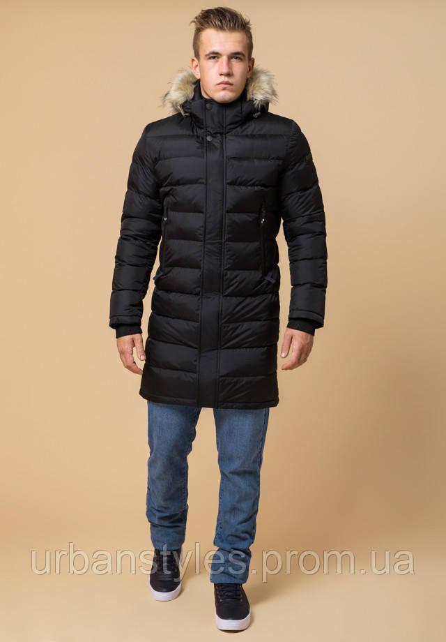 Куртка длинная зимняя с мехом Braggart Aggressive