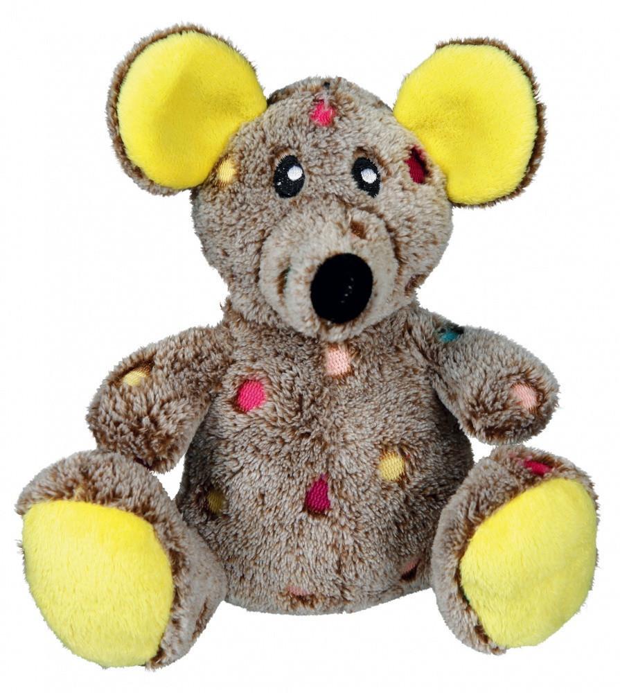Игрушка Trixie Mouse для собак плюшевая, с пищалкой, 17 см