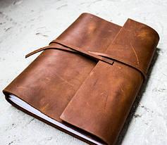 Кожаные блокноты, пеналы