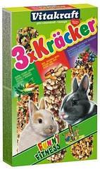 Крекер Vitakraft для кроликов с овощами и попкорном, 3 шт