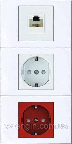 W45 (SCHNEIDER ELECTRIC, Франция) - выключатели и розетки