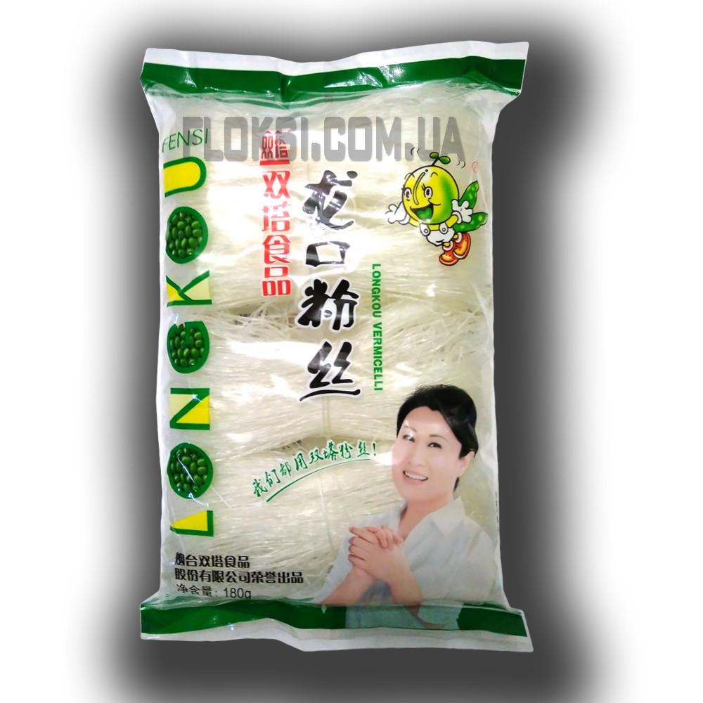 Вермишель бобовая Мунг Бин фунчоза 0,180 кг LONGKOU