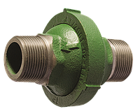 Обратный клапан гравитационный для отопления муфтовый чугунный Ру 7 Ду 20