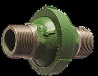 Обратный клапан гравитационный для отопления муфтовый чугунный Ру 7 Ду 40