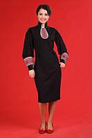 Женское платье с вышивкой и вставками.    Жіноче плаття Модель:ЖП 19-