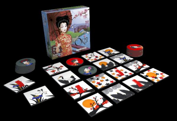 Настольная игра Окія (Окийя, Okiya), фото 2