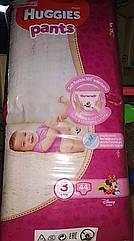 Подгузники-трусики Huggies Pants 3 для девочек 6-11 кг, 44 шт
