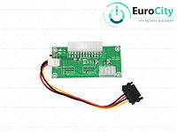 Адаптер-синхронизатор блоков питания ATX 24 Pin to Molex 4 Pin (ADD2PSU)