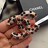 Брошь точная копия Chanel в коробке с ленточкой брошка на пальто блуз, фото 3