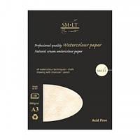 Склейка для графики PRO CREATE А3, 300г/м2, 10л, екстра белая бумага Bristol, SMILTAINIS