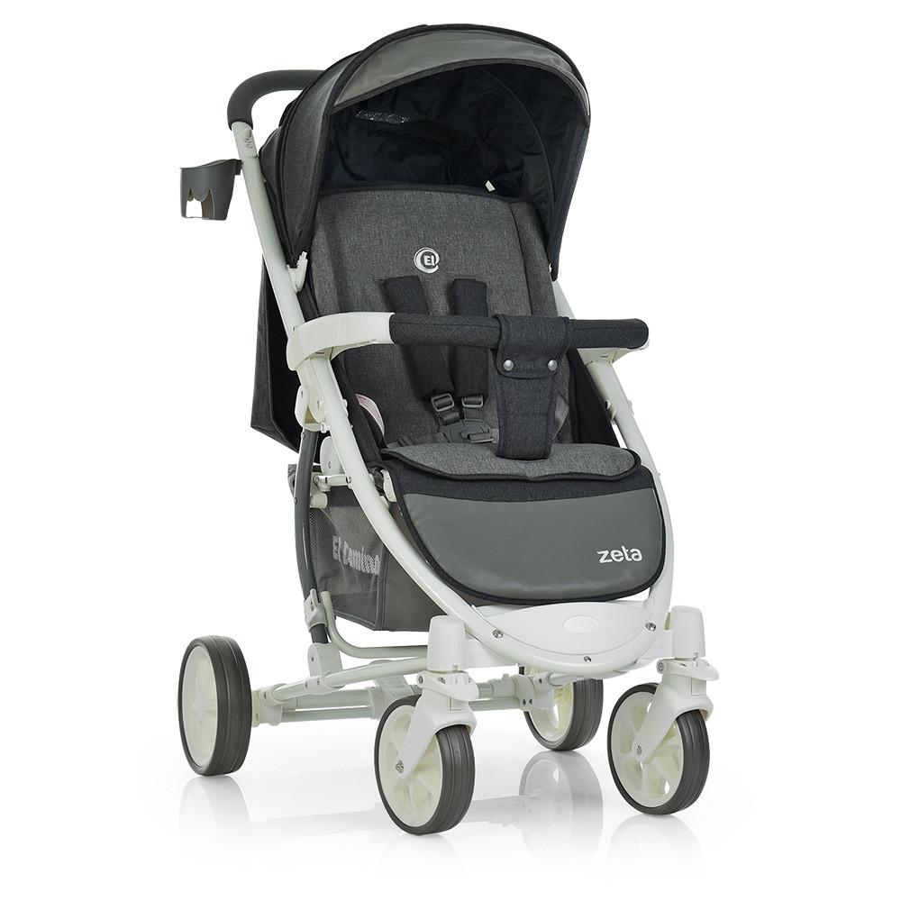Детская коляска ME 1011L ZETA Graphite Гарантия качества Быстрая доставка