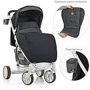 Детская коляска ME 1011L ZETA Graphite Гарантия качества Быстрая доставка, фото 2