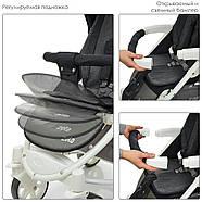 Детская коляска ME 1011L ZETA Graphite Гарантия качества Быстрая доставка, фото 5