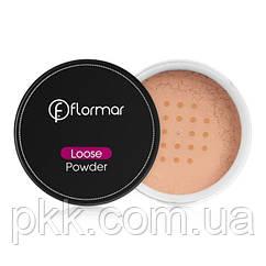 Рассыпчатая пудра для лица Flormar Loose Powder № 01 Pale Sand Бледный песок