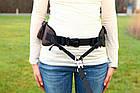 Сумка-пояс Trixie Multi Belt Hip Bag для прогулок с собакой, с поводком, 57-138 см (28861), фото 2