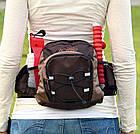 Сумка-пояс Trixie Multi Belt Hip Bag для прогулок с собакой, с поводком, 57-138 см (28861), фото 3